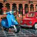Vespa meets Fiat 500 F! by ZetoVince