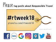 Please tag posts about responsible travel #rtweek18