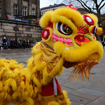 Chinese dragon dancer