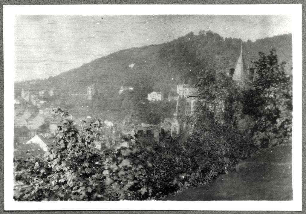 Archiv Famuc069 Münchner Familie Urlaub In Karlsbad 1920