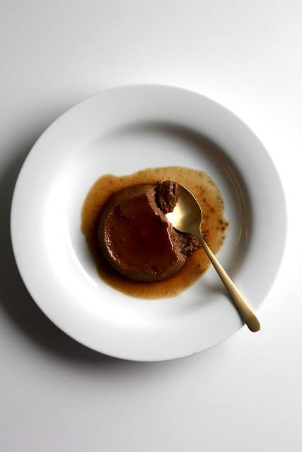 chocolate crème caramel