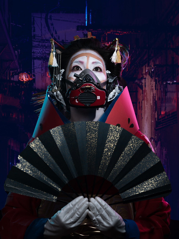 SALZ x Irwin Wong Geisha Robot2