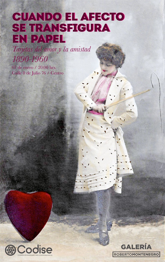 Cuando el afecto se transfigura en papel / Galería Roberto Montenegro