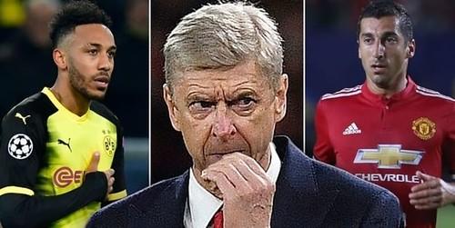 Henrikh Mkhitaryan Langsung Ajakin Pierre-Emerick Aubameyang Gabung Dengan Arsenal
