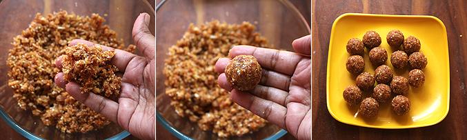 How to make dates cornflakes energy balls recipe - Step3