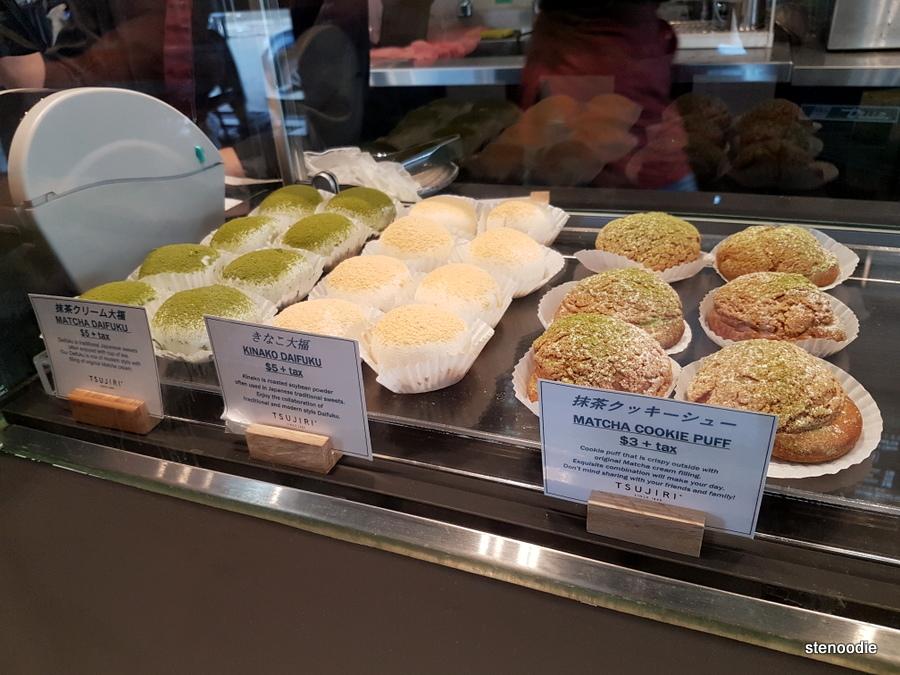 Tsujiri baked goods