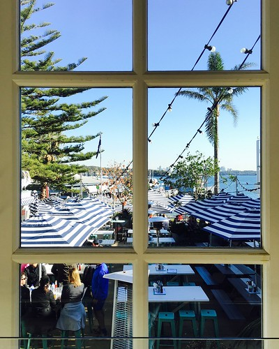Outside dining, Watson's Bay. From How to explore Australia independently - and on a budget