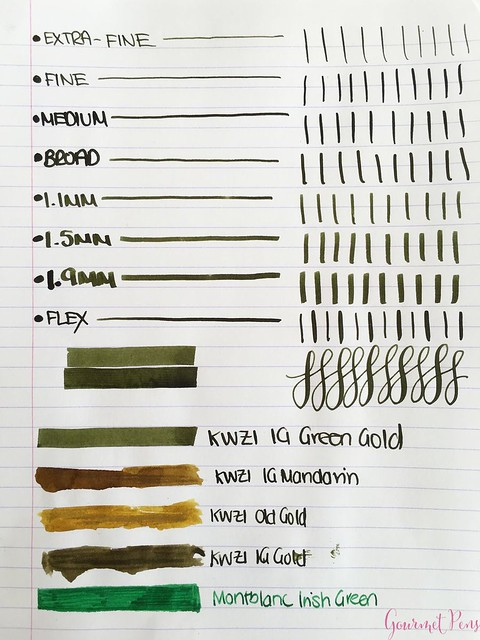 Ink Shot Review KWZI IG Green Gold @AppelboomLaren 2