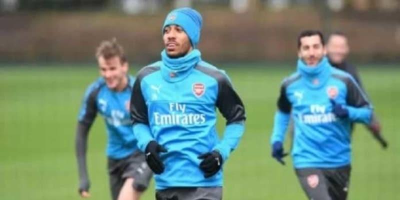 Aubameyang Mulai Berlatih Bersama Skuad Arsenal