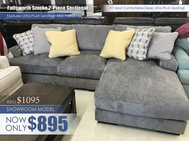 Fallsworth Smoke 2PC SectionalSpecialupdate_94802_update