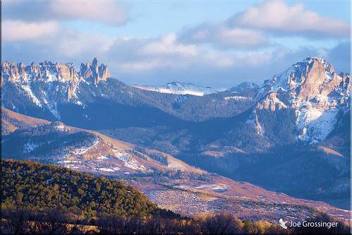 mountain snow ice trees 1420