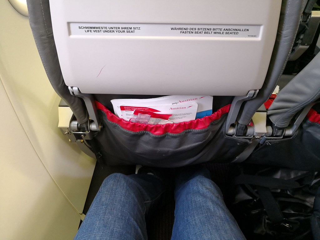 Legroom on the Dash-8