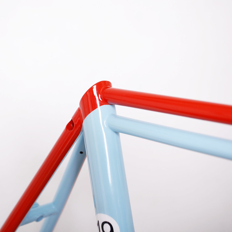 Steel Frame & Fork Repainted by Swamp Things.