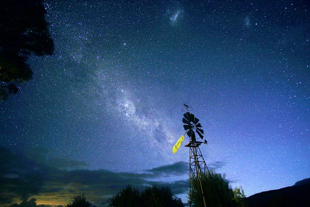 Waiting for the dusk sky to fade and the milky way to play its prominence role on the night sky
