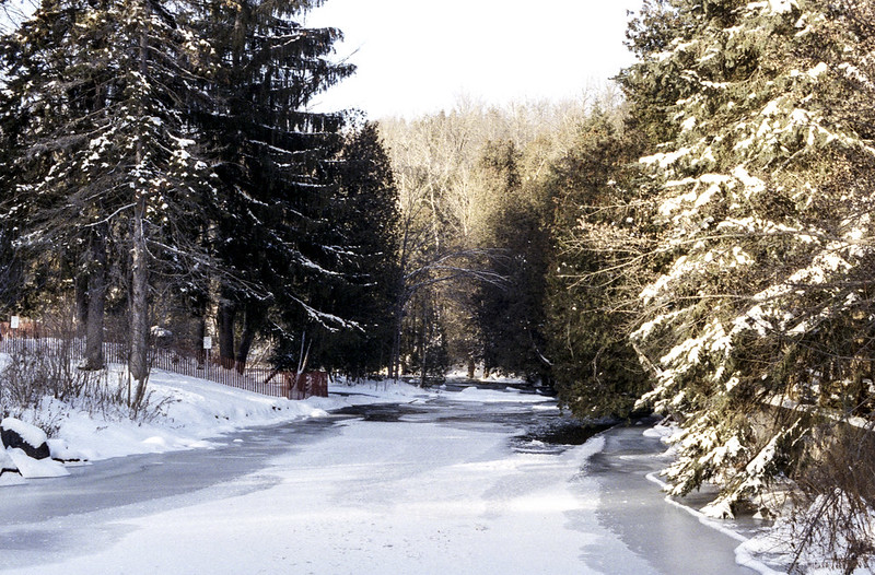 Frozen Over West Credit River One