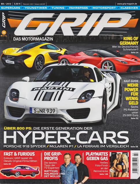 GRIP - Das Motormagazin 3/2013