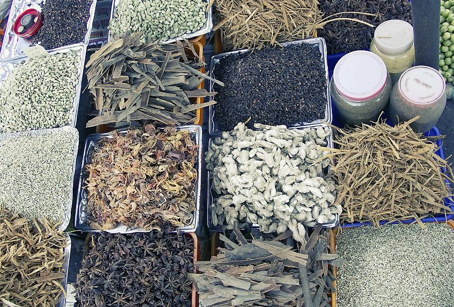 Специи на базаре Аллапуджи © Kartzon Dream - авторские путешествия, авторские туры в Индию, тревел видео, фототуры