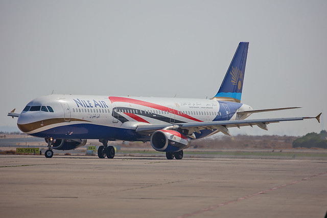 SU-BQN, Airbus A321-231 Nile Air @ Kuwait Airport KWI