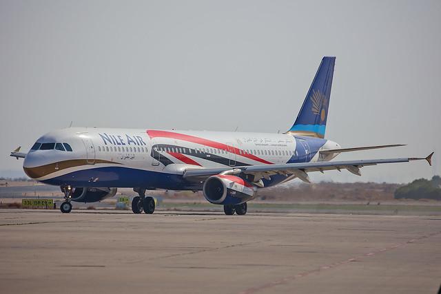 SU-BQN, Airbus A321-231 Nile Air @ Kuwait Airport KWI