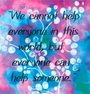We Cannot Help Everyone - Quote