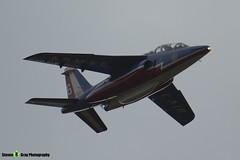E73 6 F-TENE - E73 - Patrouille de France - French Air Force - Dassault-Dornier Alpha Jet E - RIAT 2014 Fairford - Steven Gray - IMG_3260
