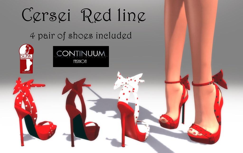 Continuum - CERSEI RED LINE adv - TeleportHub.com Live!