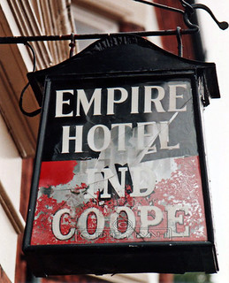 EMPIRE sign  Newport St  Leicester  1987