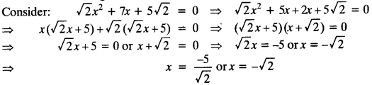 Quadratic Equations Chapter Wise Important Questions Class 10 Mathematics 83