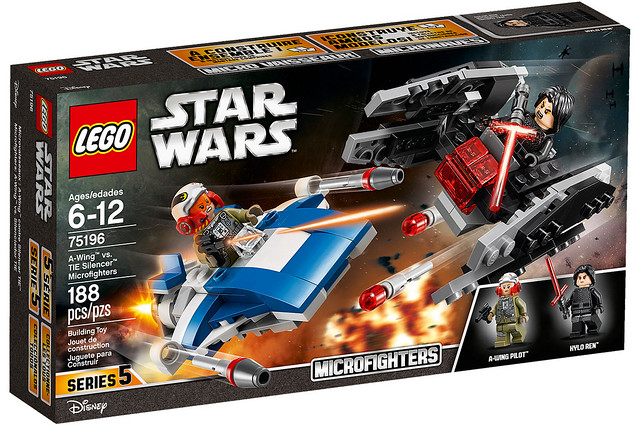 LEGO Star Wars Microfighters 75196