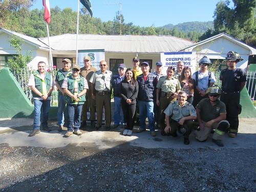 LINARES; Seremi de Salud, Carabineros de Chile, bomberos, Conaf y Senda realizaron operativo preventivo en el Embalse Ancoa