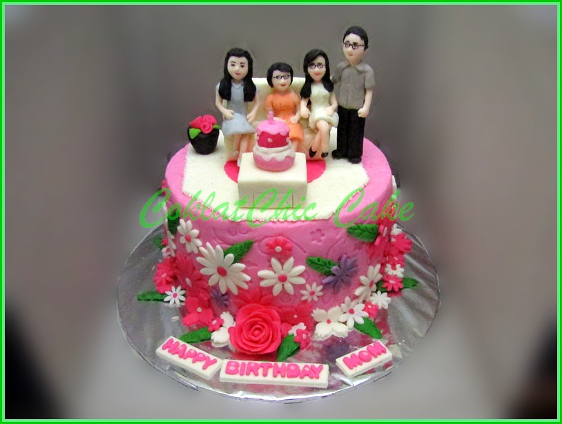 Cake Family MOM 15 cm