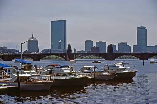 Charles River, Back Bay - 1985