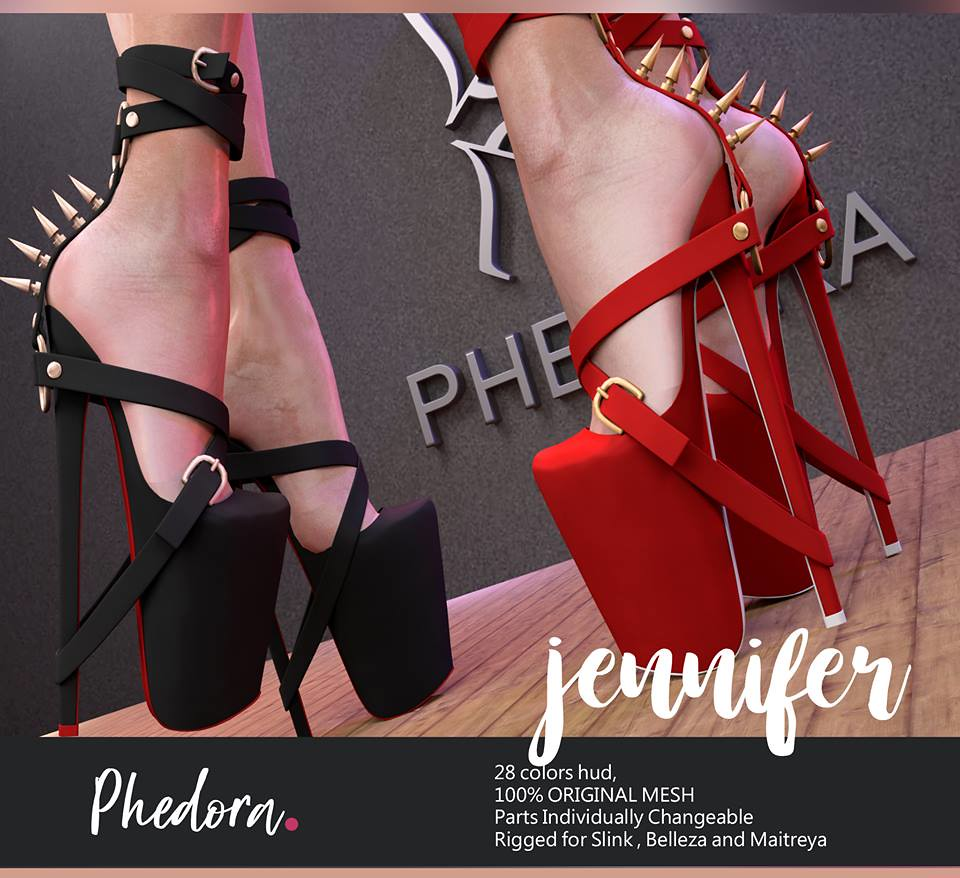 "Phedora. for Kinky Monthly event- ""Jennifer"" heels - TeleportHub.com Live!"