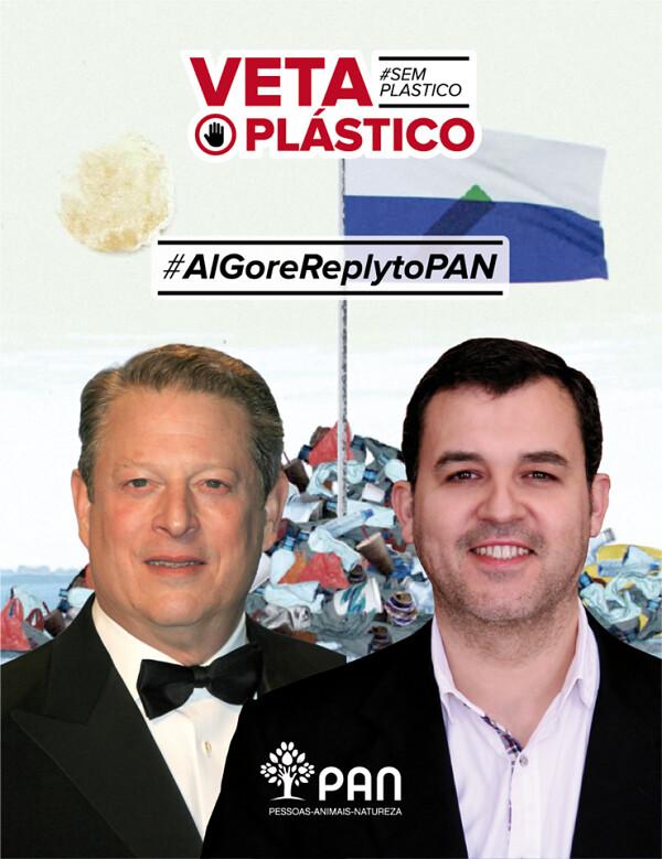 Al gore Plastic