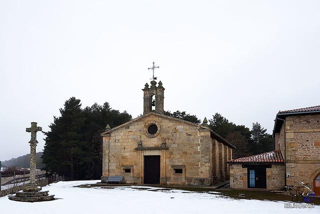 Necrópolis de Revenga y La Cerca con nieve 11