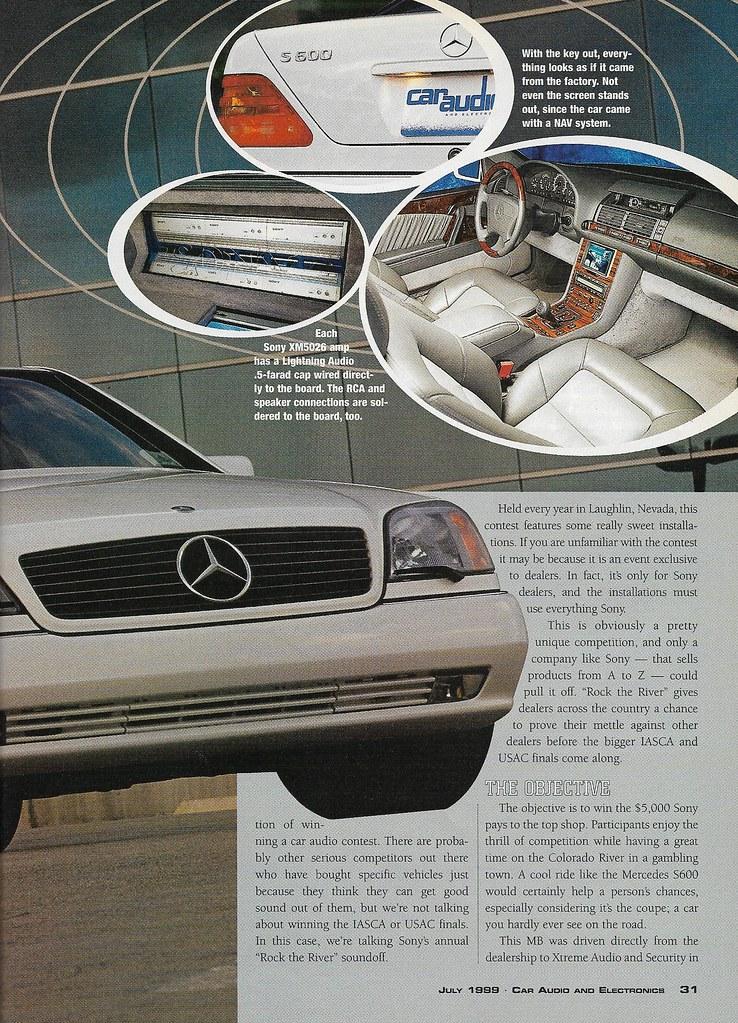 Denis & Diana Maynerd - 1996 Mercedes-Benz S600 - 1999 CA&E