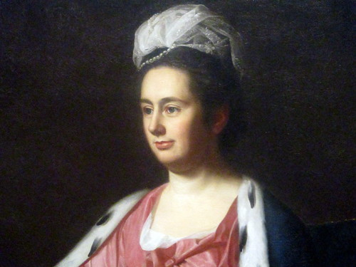 Bust of Portrait of Abigail Smith Babcock (Mrs. Adam Babcock)