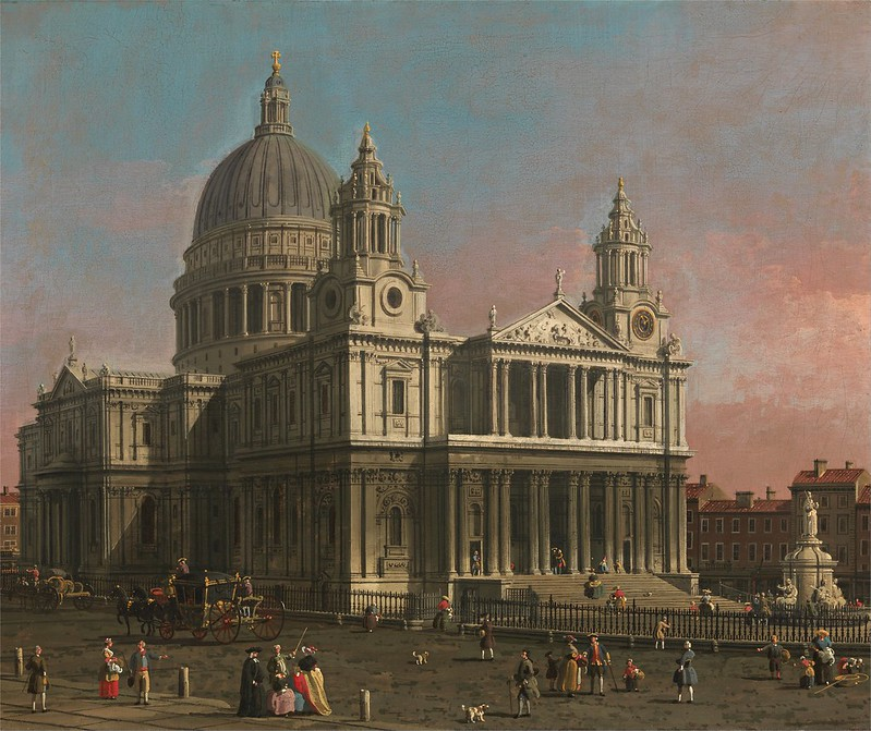 Canaletto - St. Paul's Cathedral (c.1754)