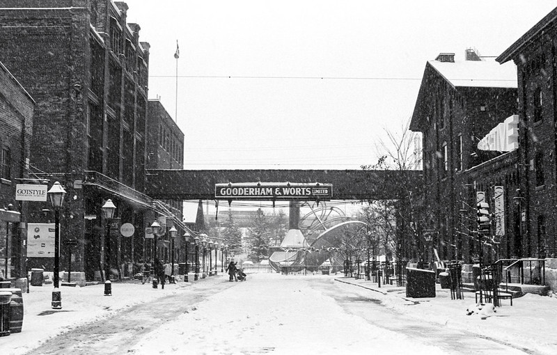 The Distillery District in Winter