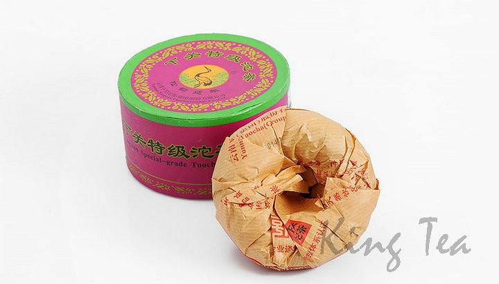 2014 XiaGuan TeJi Tuo   100g 5=500g  YunNan        Puerh Raw Tea Sheng Cha