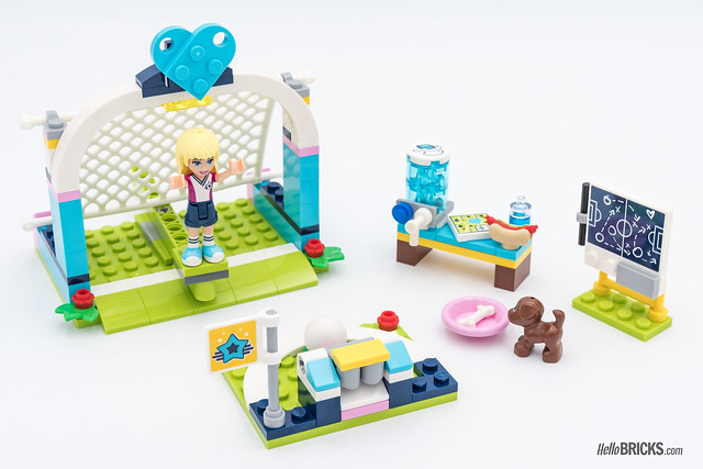 REVIEW LEGO Friends 2018 - LEGO 41330 Stephanie Soccer Practice