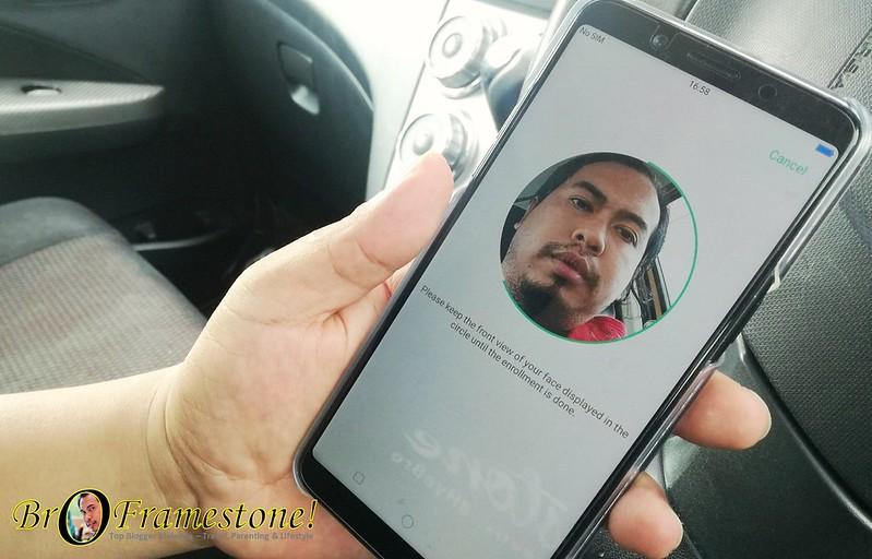OPPO F5 Facial Unlock