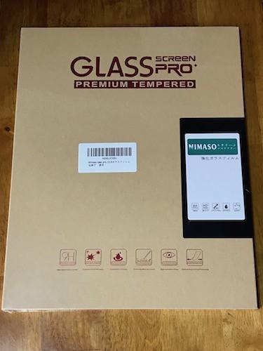 Nimaso iPad Pro 12.9 用 強化ガラス液晶保護フィルム外箱