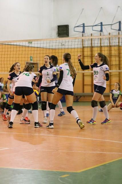 U16 Bianca 13 Gennaio 2018 - Sanda Volley -  Bracco Pro Patria  0 - 3