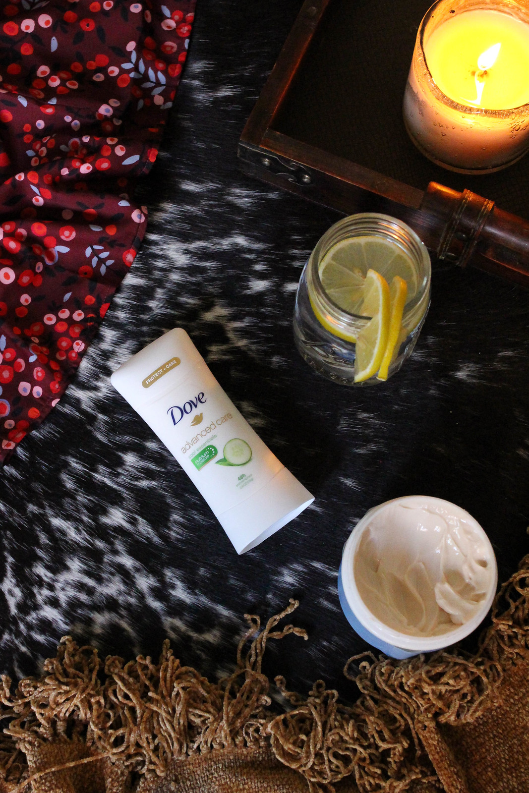 Winter Skincare Survival: 4 Tips For Combating Dry Winter Skin Dove Advanced Care Antiperspirant