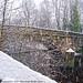 Heavy Snow upon Mearclough Bridge