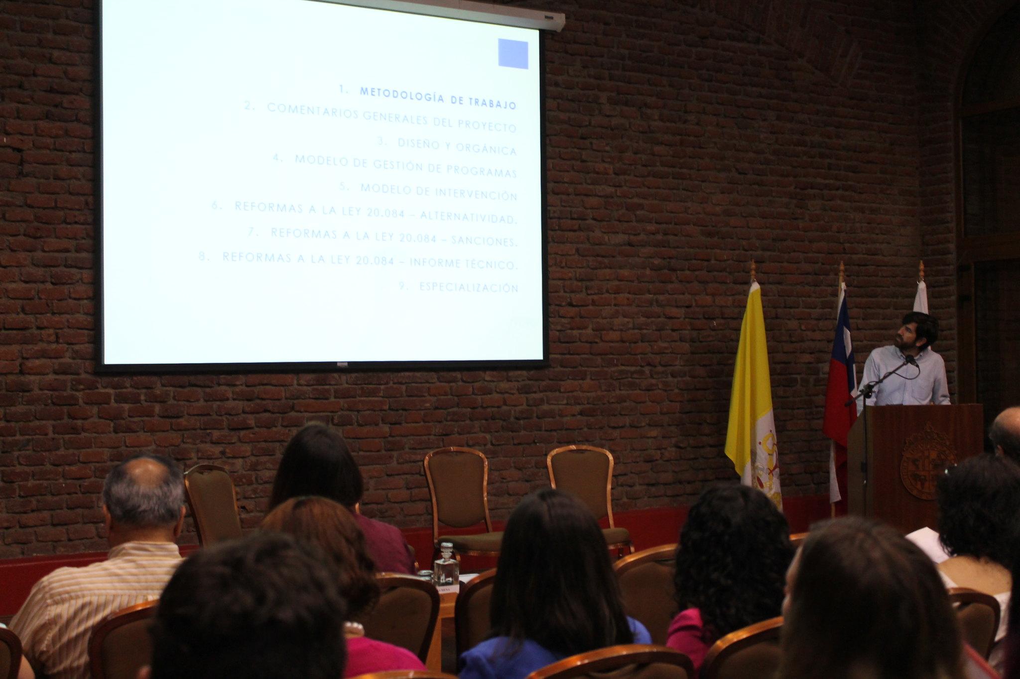 """Seminario """"Reinserción social de jóvenes: propuestas y desafíos"""""""