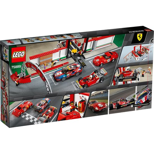 LEGO Speed Champions Ferrari Ultimate Garage (75889)