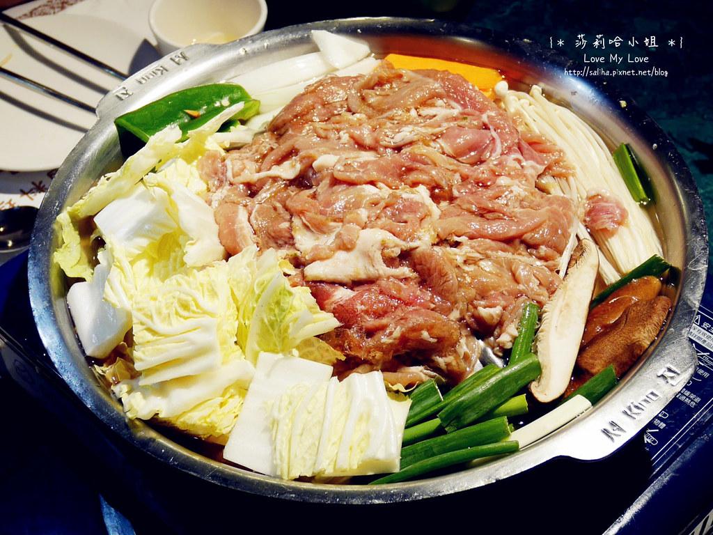 台北松山區韓國料理餐廳漢陽館銅盤烤肉