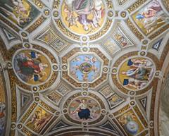 Ciudad del Vaticano. Estancia de La Signatura. Boveda